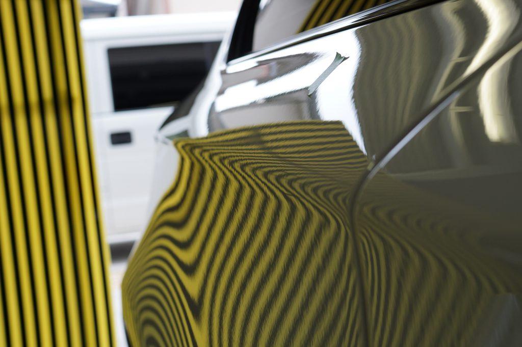 BMW 右リヤフェンダーのヘコミ修理後3
