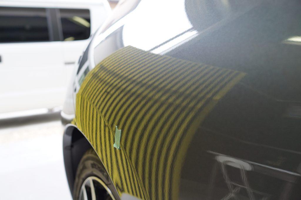 CR-Z リヤフェンダーのヘコミ修理後3