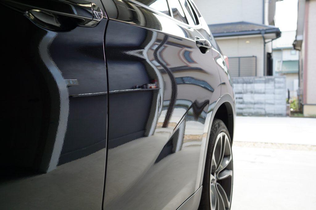 BMW X1ドアのヘコミ2