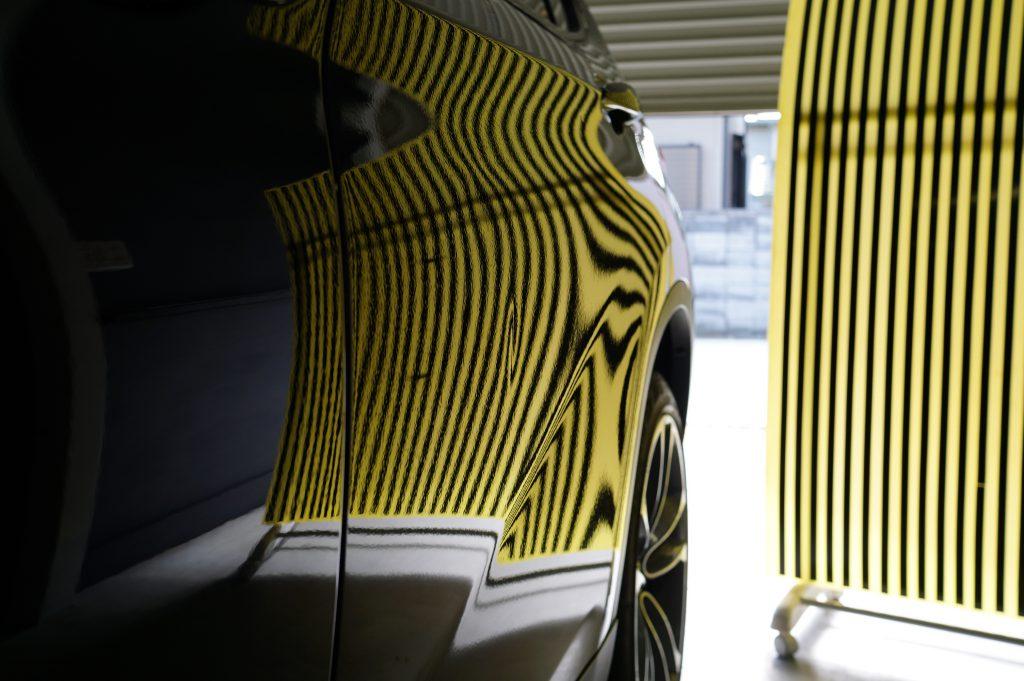 BMW X1 ドアのヘコミ3