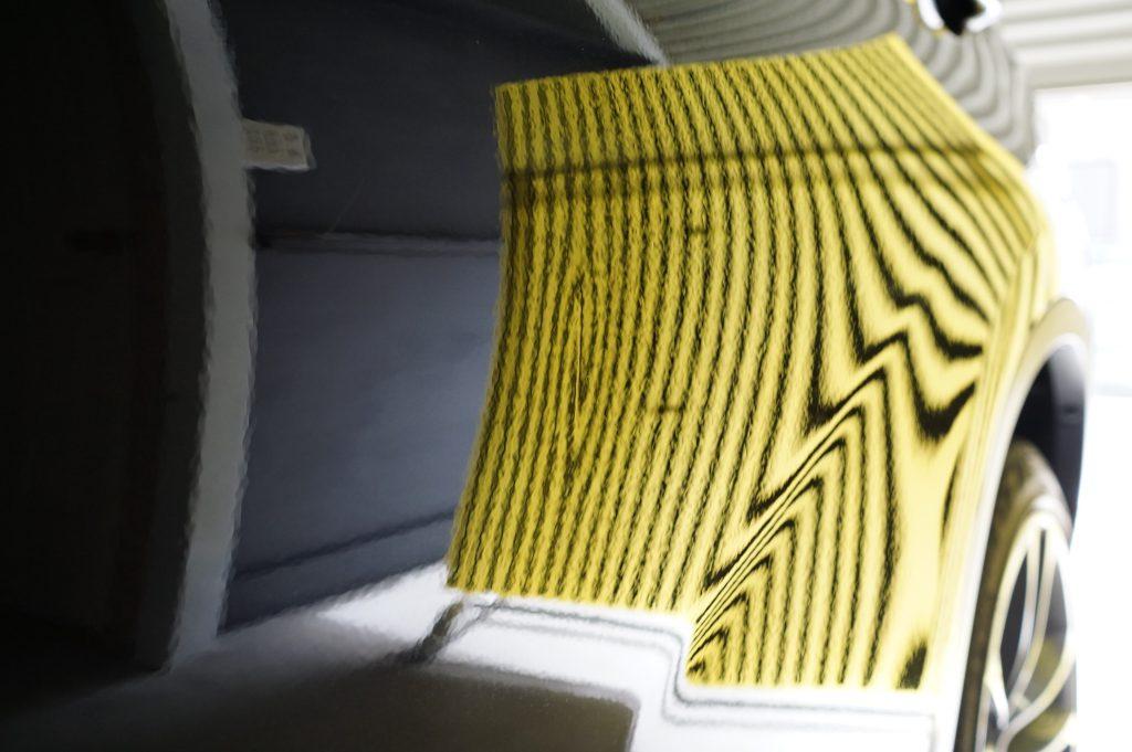 BMW X1 ドアのヘコミ4