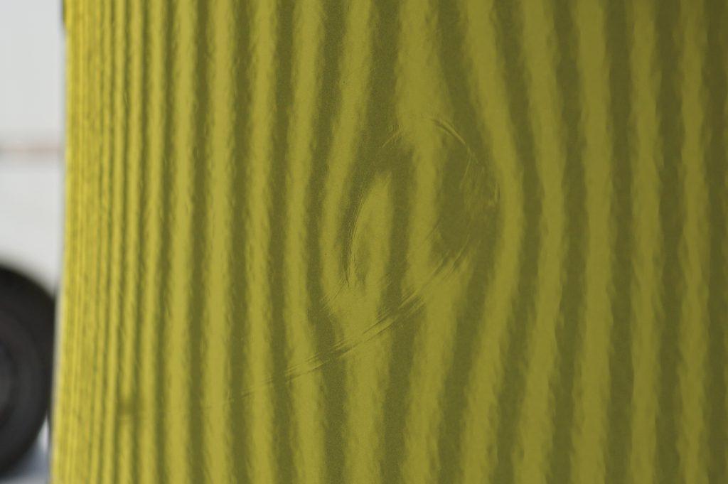 セレナ リヤフェンダーのヘコミ4