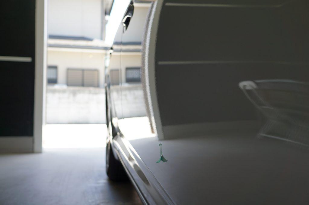 アベンシス ドアのヘコミ修理後3