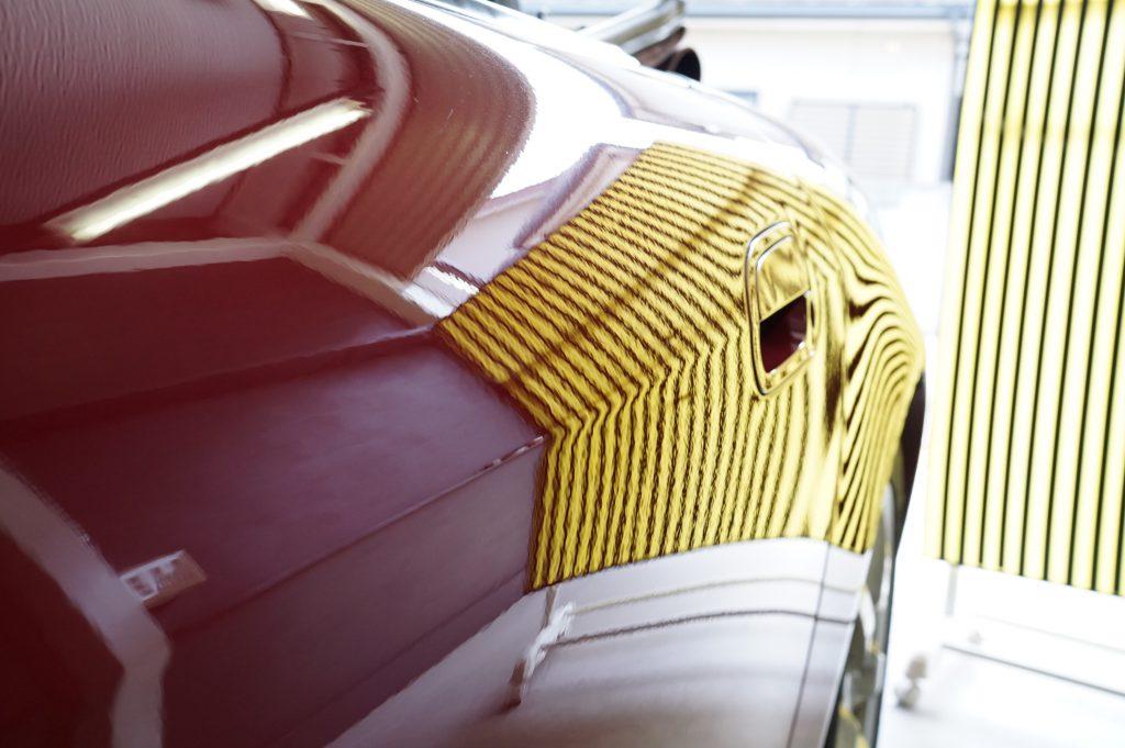 S2000 ドアのヘコミ修理後5