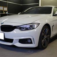 デントリペアのご依頼BMW4シリーズクーペ
