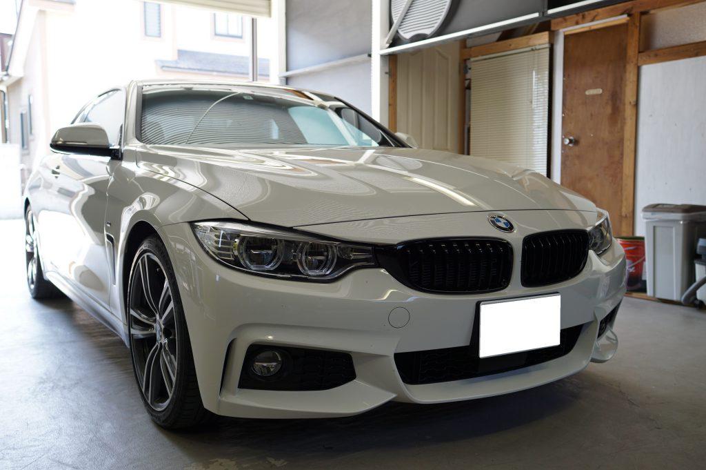 デントリペアのご依頼 BMW4シリーズクーペ