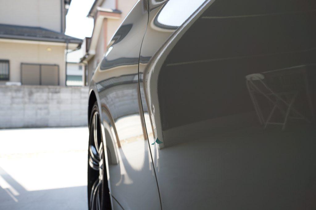 BMW4シリーズ ドアのヘコミ2