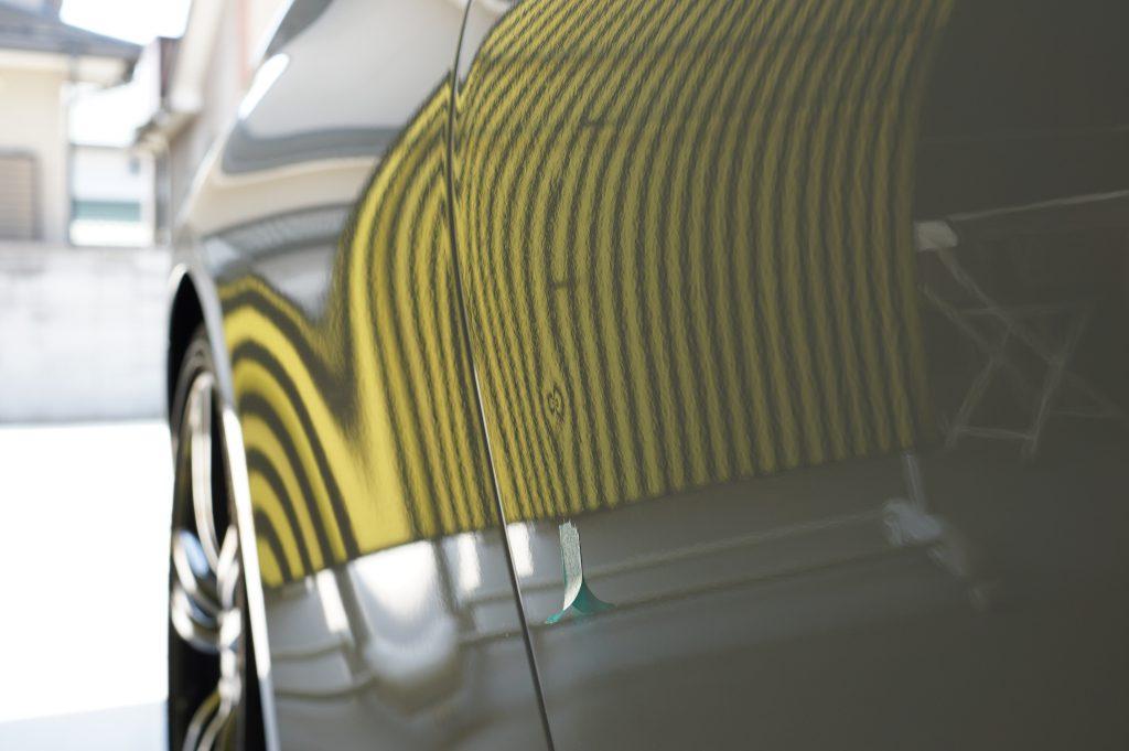 BMW4シリーズ ドアのヘコミ3