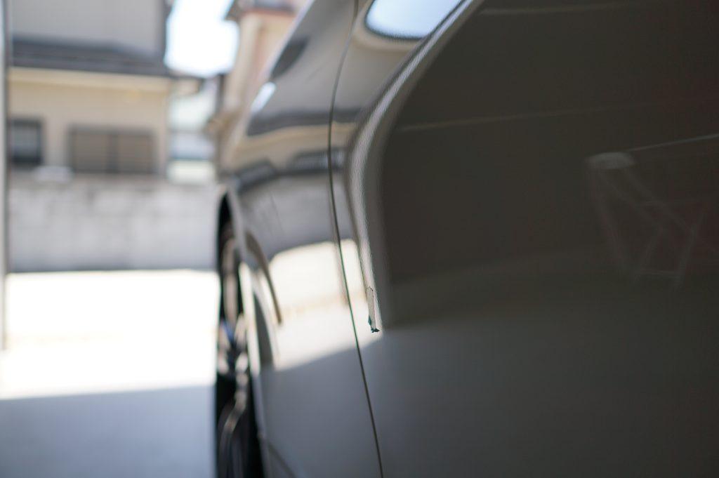 BMW4シリーズ ドアのヘコミ修理後