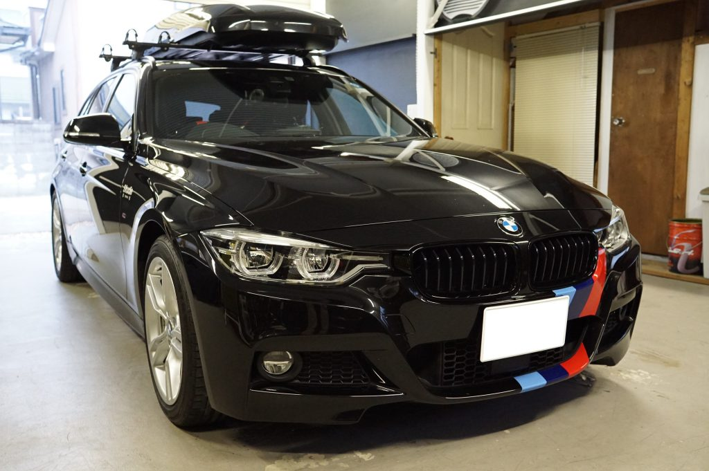 デントリペアのご依頼 BMW3シリーズ