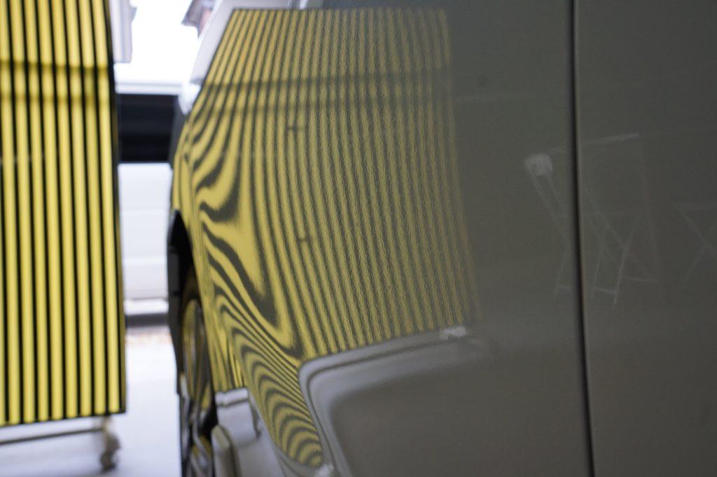 シャトルHV ドアのヘコミ修理後2
